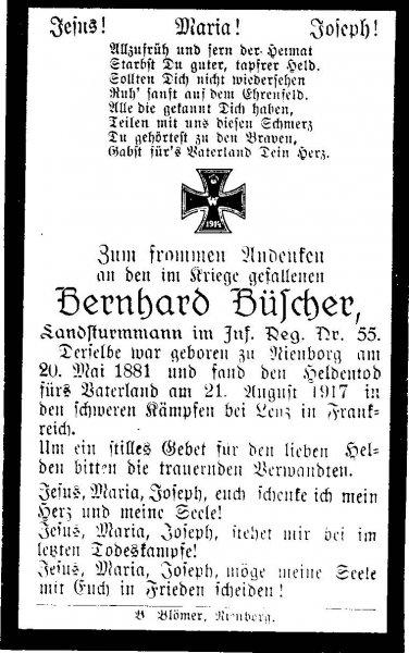 Büscher, Bernhard