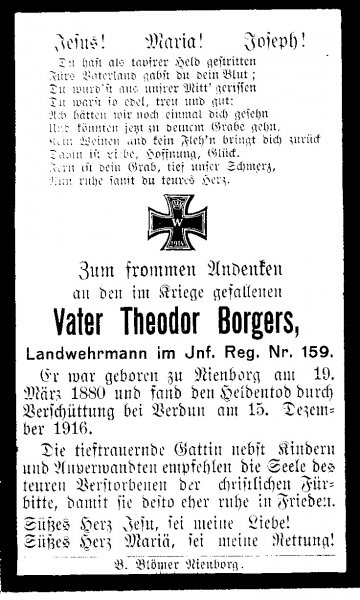 Borgers, Theodor