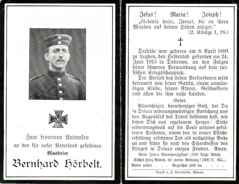 Hörbelt, Bernhard a