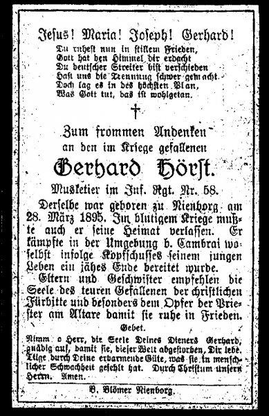Hörst, Gerhard