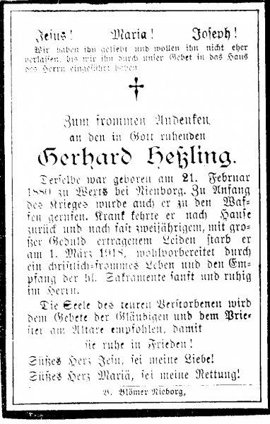 Heßling, Gerhard