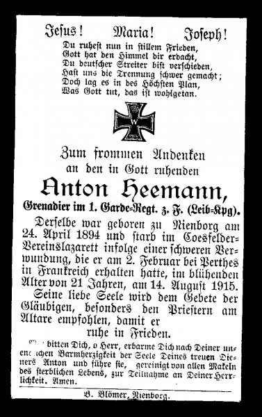 Heemann, Anton