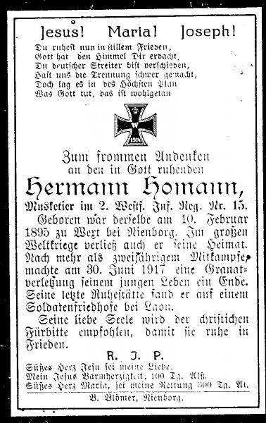 Homann, Hermann
