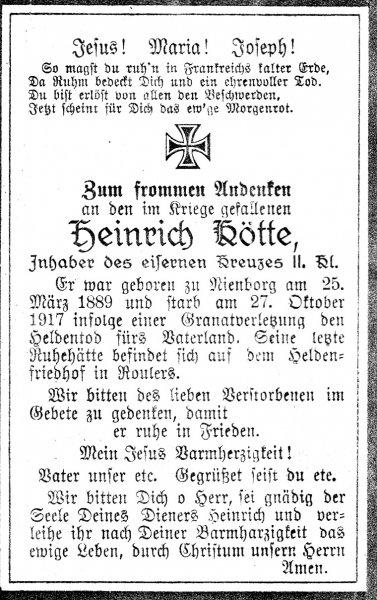Kötte, Heinrich