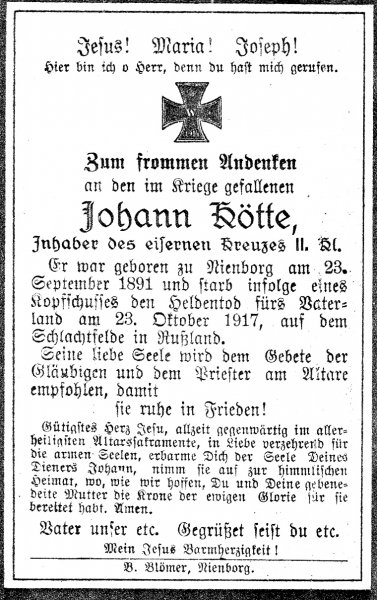 Kötte, Johann