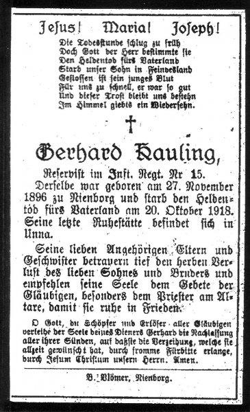 Kauling, Gerhard