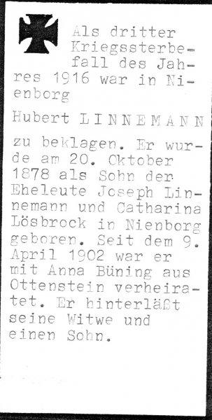 Linnemann, Hubert