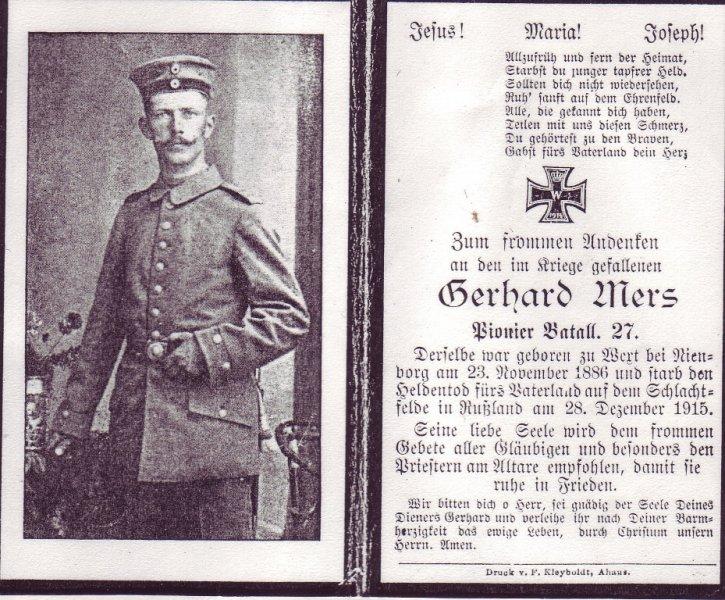 Mers, Gerhard