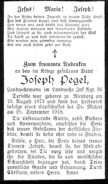 Pegel, Joseph