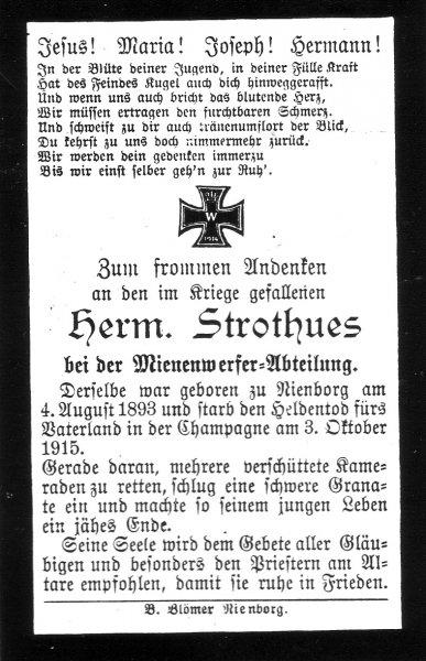 Strothues, Hermann a
