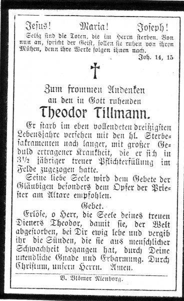 Tillmann, Theodor