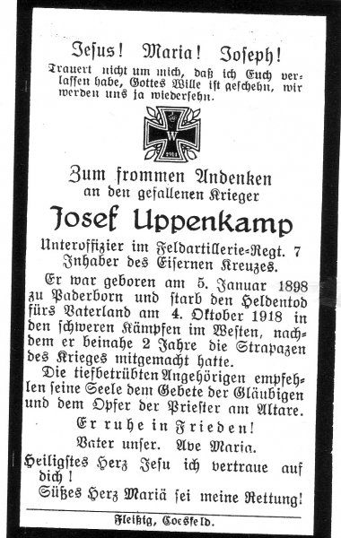 Uppenkamp, Josef