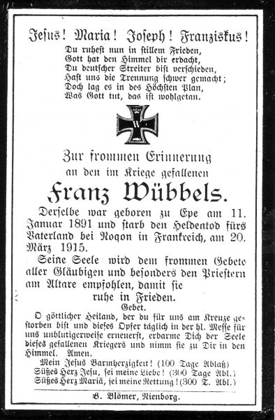 Wübbels, Franz
