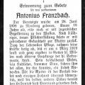 Franzbach, Antonius