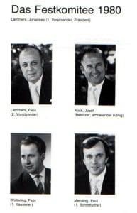 Festausschuss 1980
