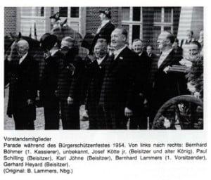 Vorstand_1954_Parade