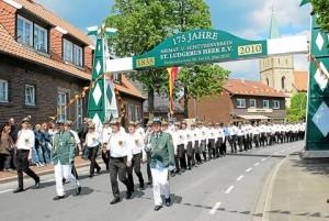 Jubiläumsschützenfest in Heek