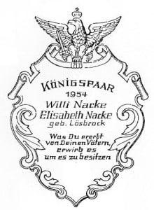 1954-Plakette