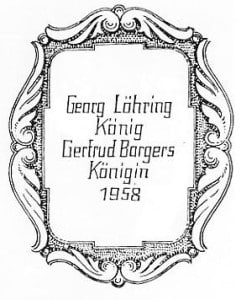 1958-Plakette