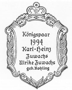 König-1994-Plakette
