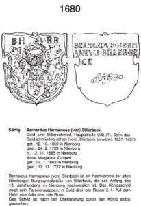 Plakette 1680