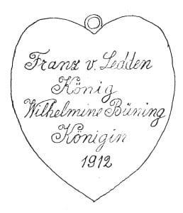 Königsplakette 1912