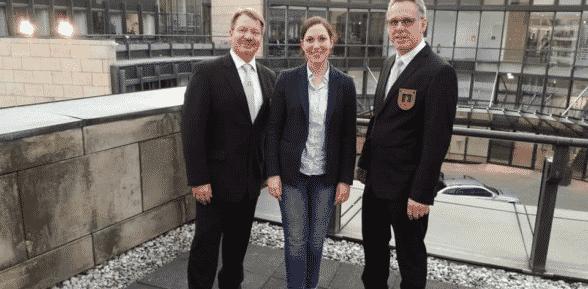 5. Parlamentarischer Abend – Schützenbrauchtum NRW – Nienborger Schützen auf Einladung von Heike Wermer MdL dabei